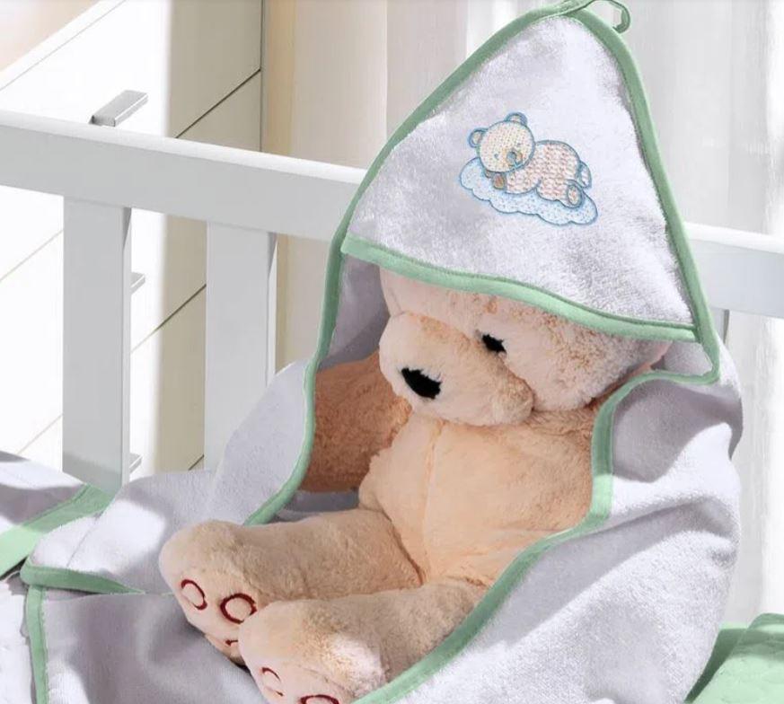 Toalha de Banho com Capuz Baby Felpudo Buettner