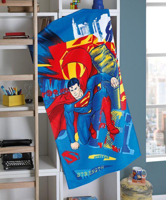 Toalha de Banho Felpudo Superman 16 Dohler