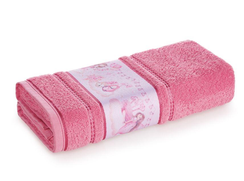 Toalha de Banho Segredo das Fadas Rosa Karsten