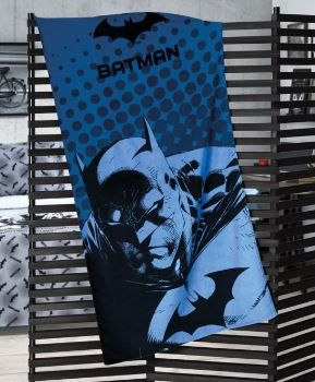 Toalha de Banho Velour Batman Dohler