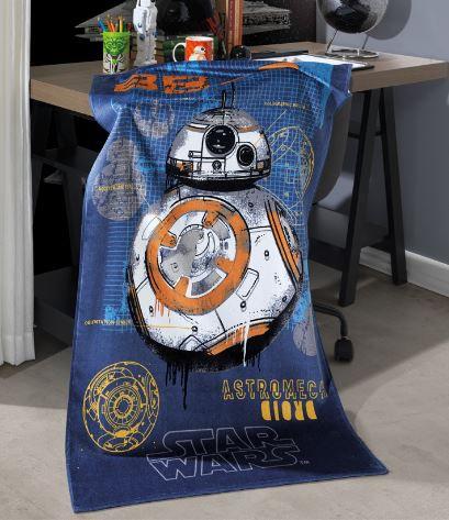 Toalha de Banho Velour Star Wars 10 Dohler