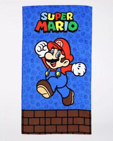 Toalha de Banho Velour Super Mario 02 Dohler