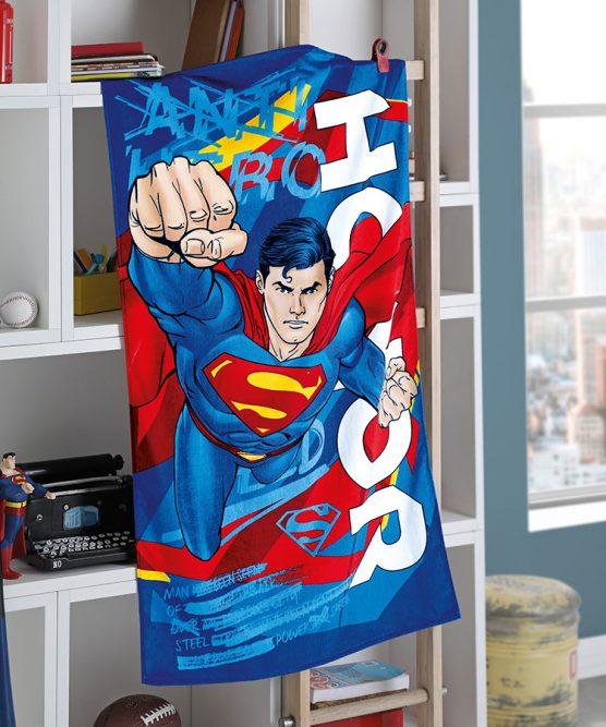 Toalha de Banho Velour Superman 15 Dohler