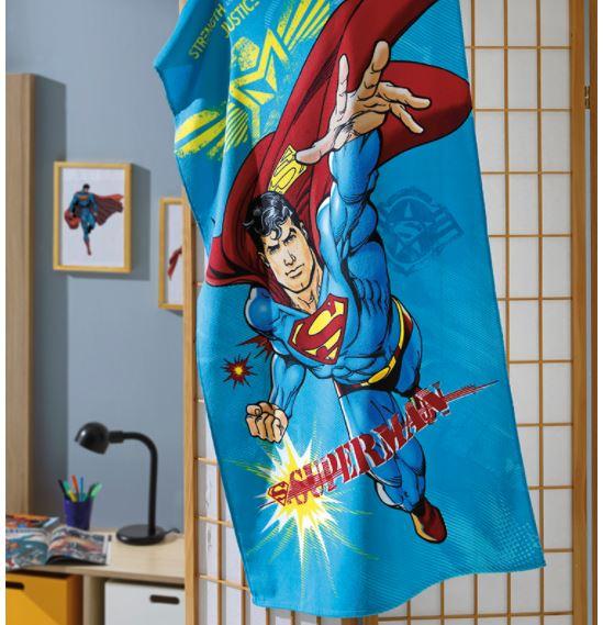 Toalha de Banho Velour Superman 23 Dohler