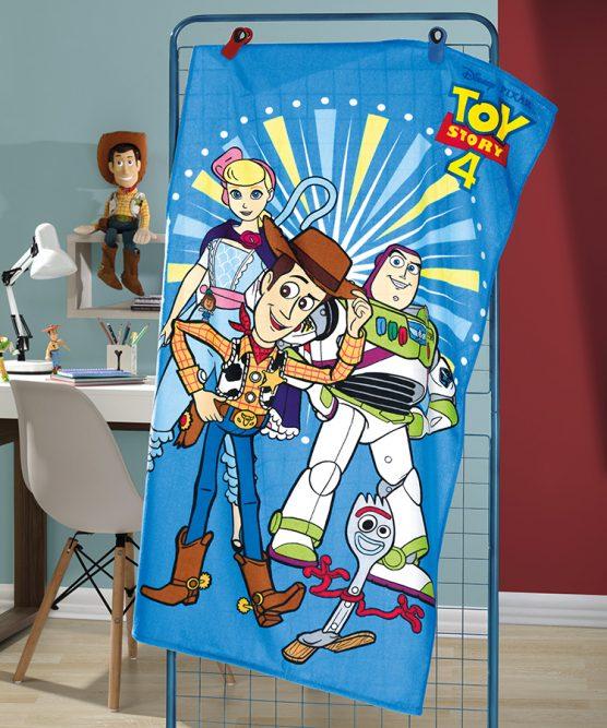 Toalha de Banho Velour Toy Story 07 Dohler