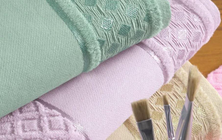 Toalha de Lavabo para Pintar Lince Karsten