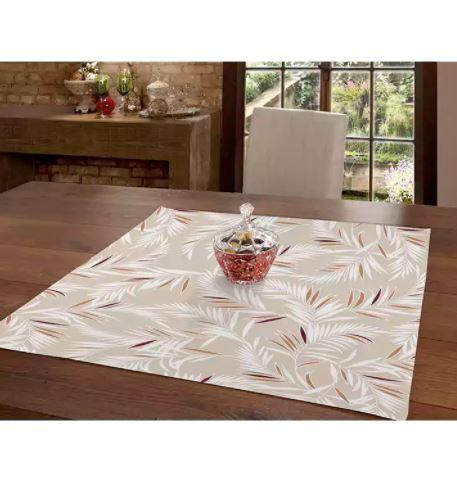 Toalha de Mesa Clean Isabela 78cm x 78cm Dohler