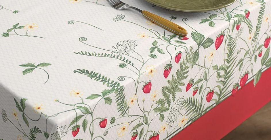 Toalha de Mesa Quadrada Dia a Dia 78 x 78 Frutalia Karsten