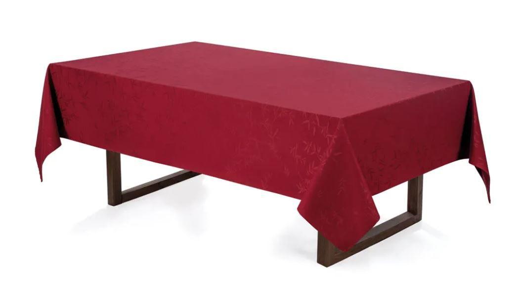Toalha de Mesa Retangular 6 Lugares Veríssimo Vermelha Karsten