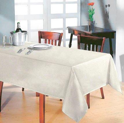 Toalha de Mesa Retangular Clean 8 Lugares Eliete Dohler