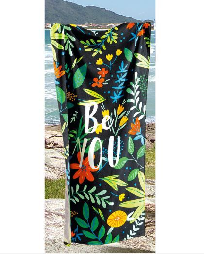 Toalha de Praia Velour Be You Dohler