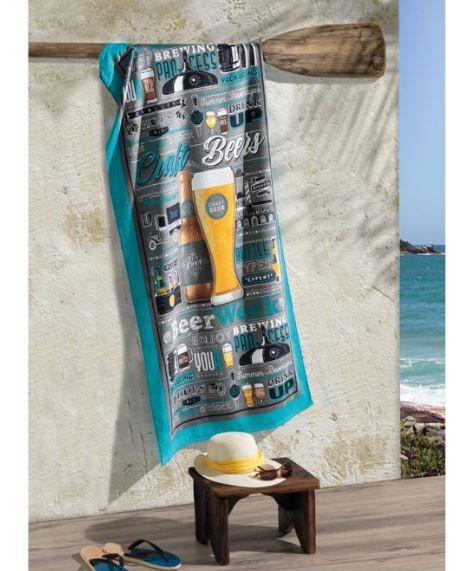 Toalha de Praia Velour Beers Dohler