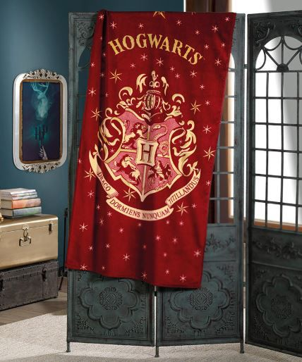 Toalha de Praia Velour Harry Potter Dohler
