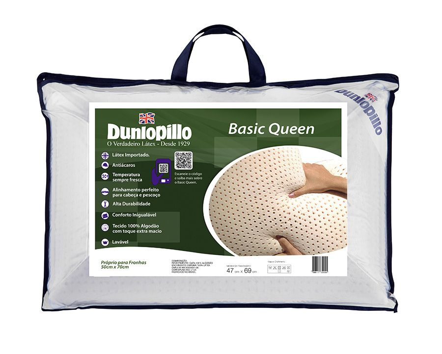 Travesseiro Basic Queen Dunlopillo