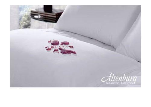 Travesseiro Basic Dunlopillo e Protetor de Travesseiro 230 Fios