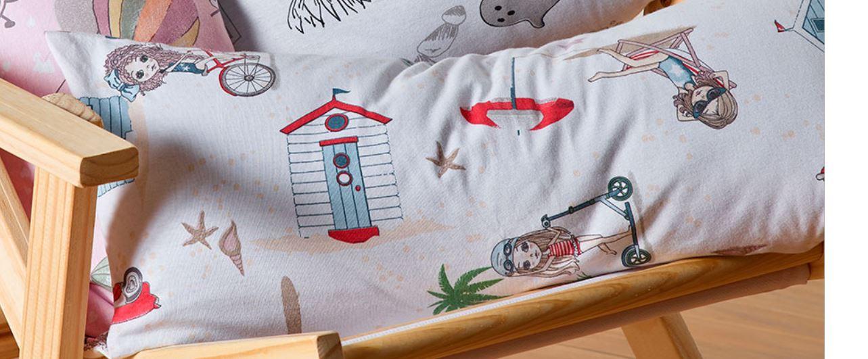 Travesseiro Body Pillow Mundo Kids Malibu c/ Fronha Altenburg