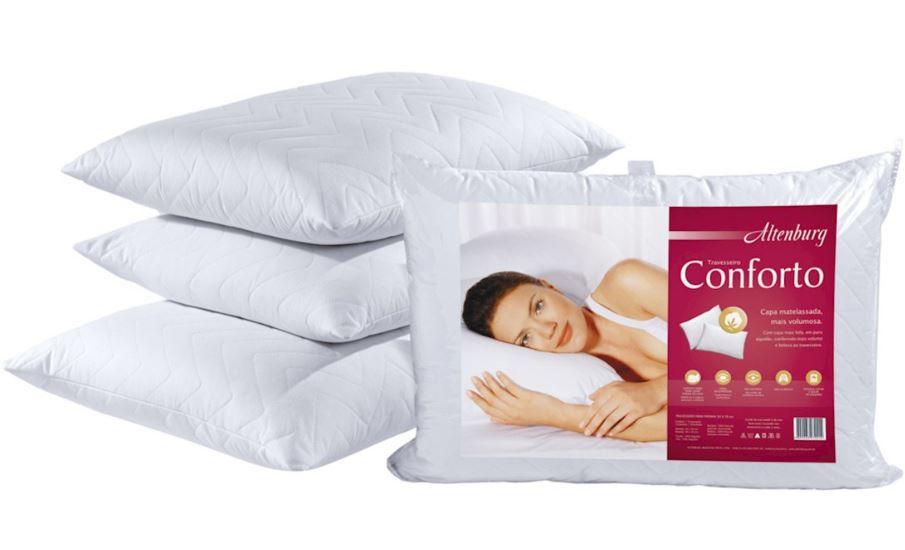 Travesseiro Conforto 50cm x 70cm Altenburg
