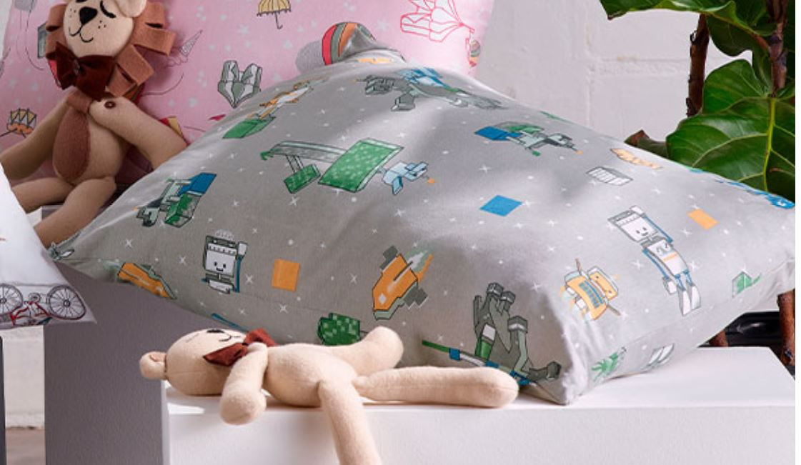 Travesseiro Mundo Kids Robots Altenburg