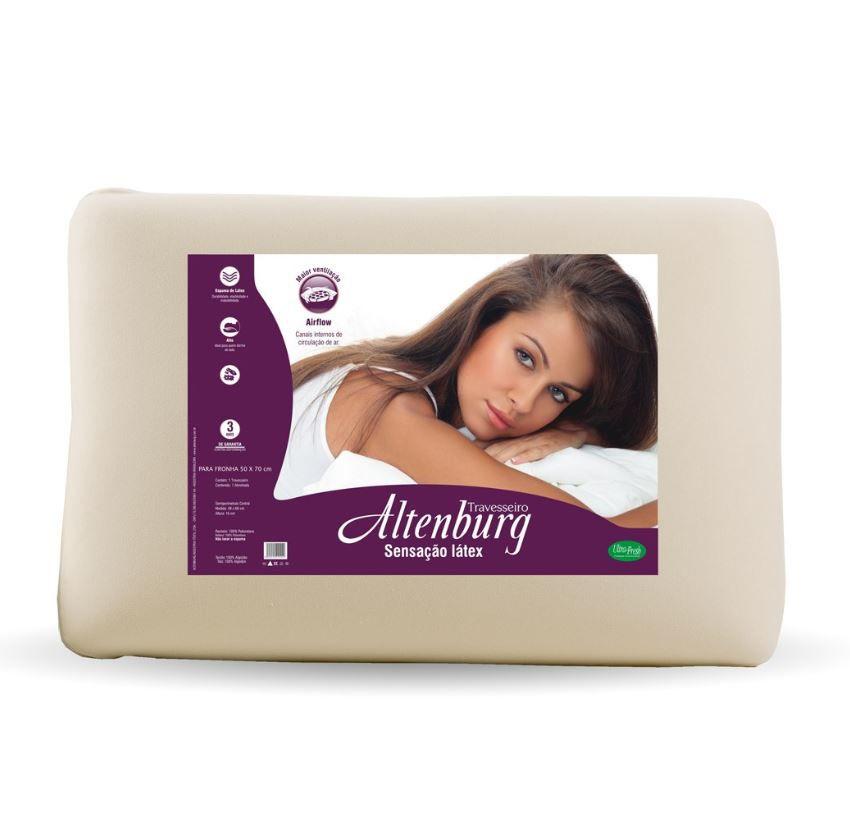 Travesseiro Sensação Látex Altenburg