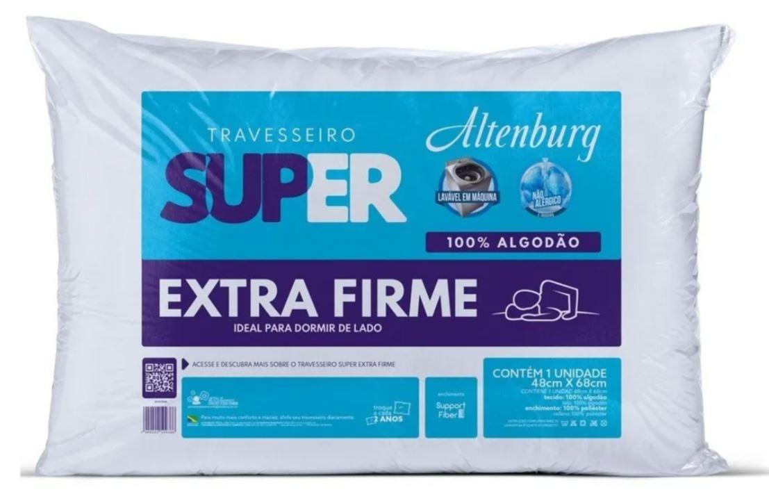 Travesseiro Super Suporte Extra Firme Altenburg