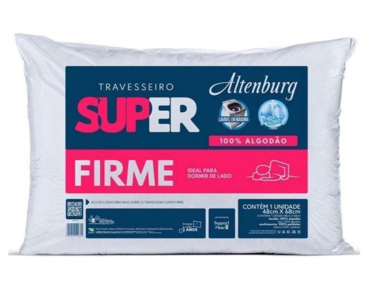 Travesseiro Super Suporte Firme Altenburg