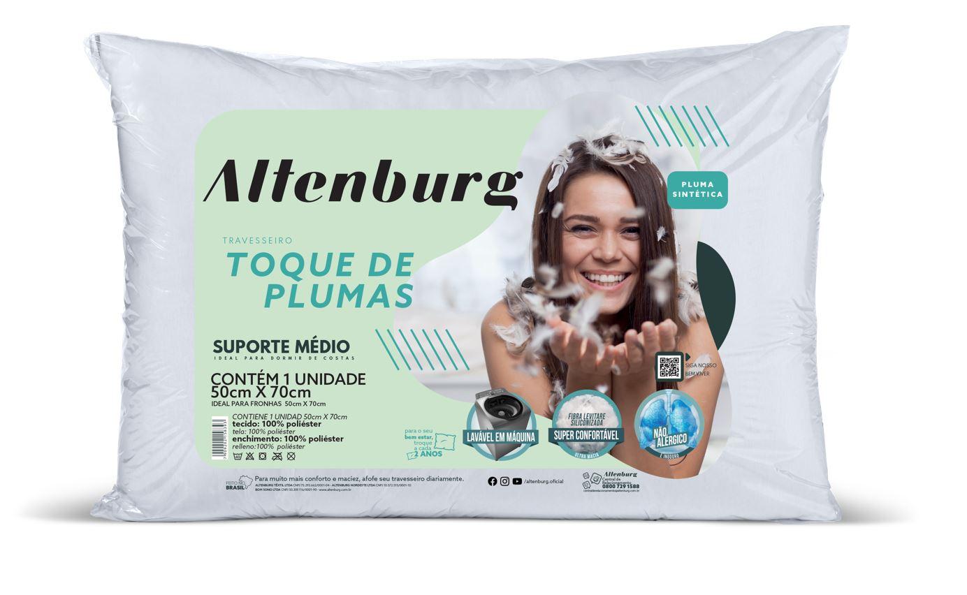 Travesseiro Toque de Pluma Altenburg