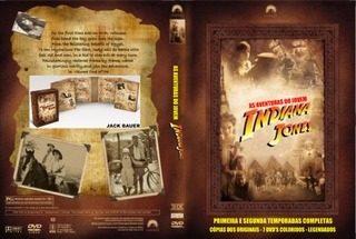 DVD Série As Aventuras Do Jovem Indiana Jones - Série Completa 11 DVD´s  - FILMES RAROS EM DVD