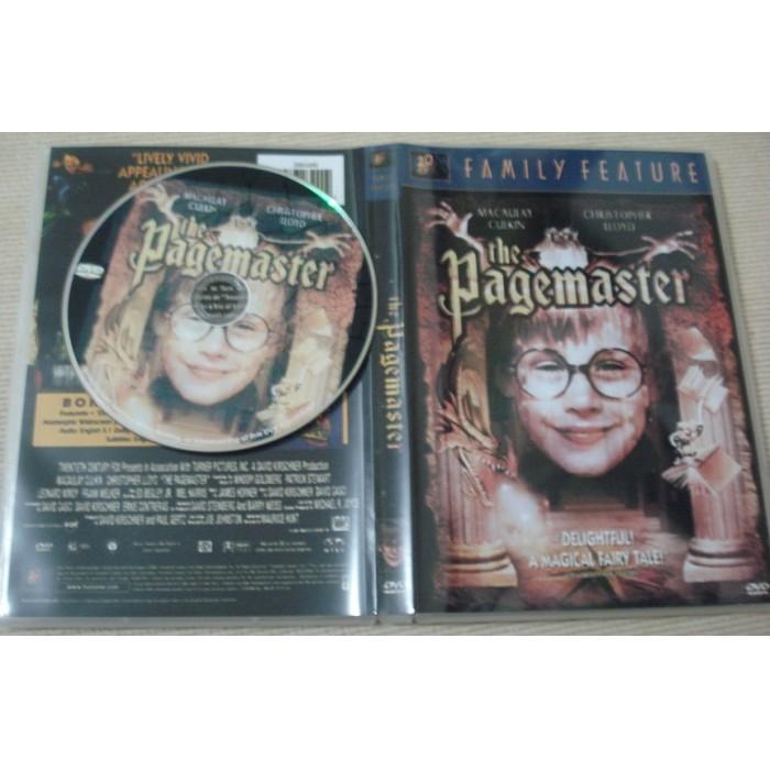 Dvd Pagemaster - O Mestre Da Fantasia com  Macaulay Culkin  - FILMES RAROS EM DVD
