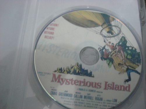 Dvd A Ilha Misteriosa (1961) - Raríssimo  - FILMES RAROS EM DVD