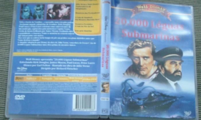 Dvd 20000 Léguas Submarinas- 1954 - Dublado/legendado  - FILMES RAROS EM DVD