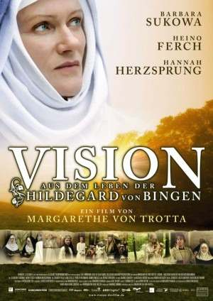 Dvd Vision – Vida Da Santa Beneditina Hildegard Von Bingen  - FILMES RAROS EM DVD