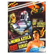 A MÚMIA ASTECA CONTRA O ROBÔ HUMANO (1958)
