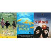 3 DVD´s A COR DO PARAÍSO (1999) + FILHOS DO PARAÍSO (1997) + A MAÇÃ (1998)