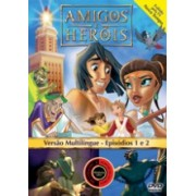 DVD AMIGOS E HERÓIS Episódio 1 e 2