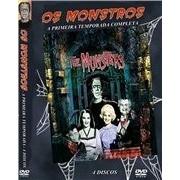 Série Os Monstros 1ª Temporada Completa ( The Munsters) - 4 DVD´s