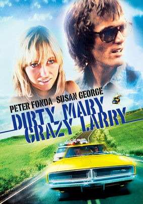 DVD Fuga Alucinada 1974 - Dirty Mary, Crazy Larry  - FILMES RAROS EM DVD
