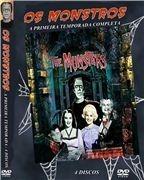 Série Os Monstros 1ª Temporada Completa ( The Munsters) - 4 DVD´s  - FILMES RAROS EM DVD