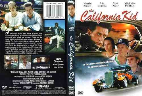 Dvd Curva Da Morte 1974- The California Kid   - FILMES RAROS EM DVD