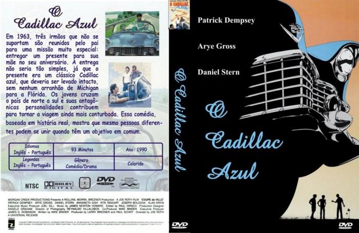 Dvd O Cadillac Azul 1990 (Coupe De Ville) Raríssimo - dublado e legendado  - FILMES RAROS EM DVD