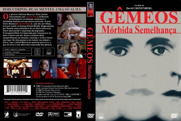 Dvd Gêmeos - Mórbida Semelhança - 1988 - Raro  - FILMES RAROS EM DVD
