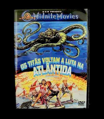 Dvd Os Titãs Voltam À Luta Na Atlântida (1978)  - FILMES RAROS EM DVD