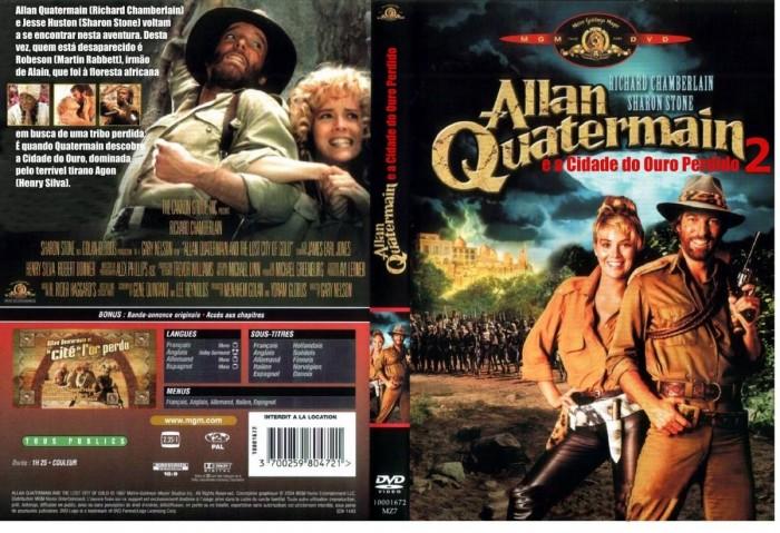Allan Quatermain E A Cidade Do Ouro Perdido 1986  - FILMES RAROS EM DVD