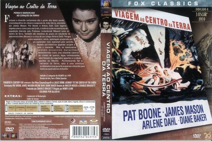 Dvd Viagem Ao Centro Da Terra 1959  - FILMES RAROS EM DVD