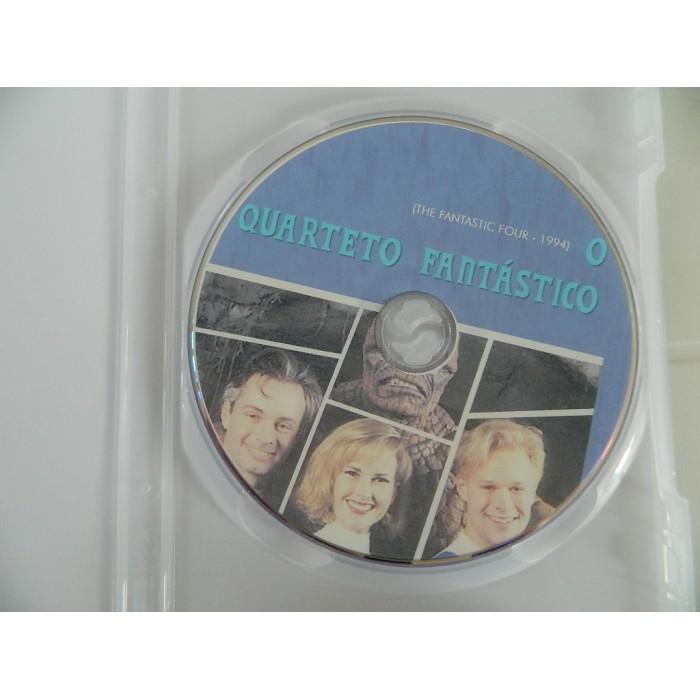 Dvd O Quarteto Fantástico 1994 - O Filme Proibido  - FILMES RAROS EM DVD