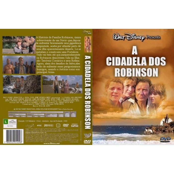 DVD A CIDADELA DOS ROBINSON - 1960  - FILMES RAROS EM DVD