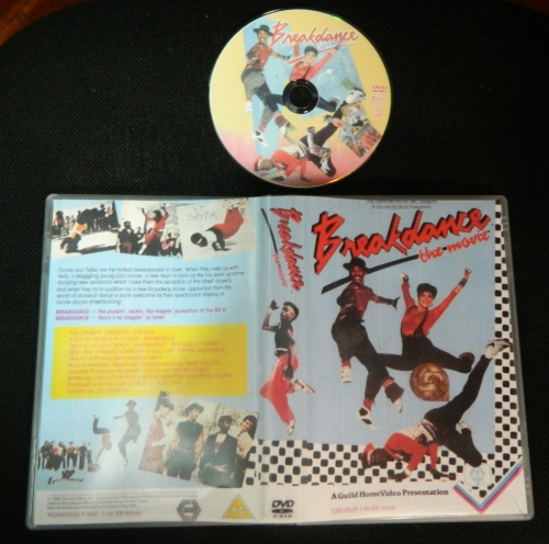 Dvd Breakdance (breakin) 1984  - FILMES RAROS EM DVD