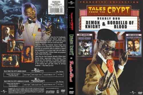 Contos Da Cripta: Bordel De Sangue E Demônios Da Noite  - FILMES RAROS EM DVD