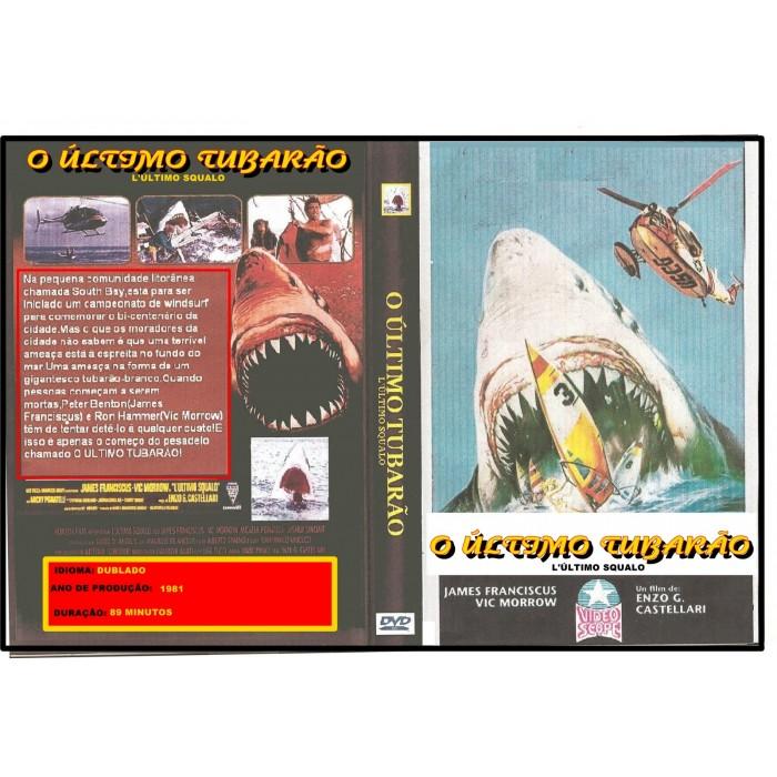 O Último Tubarão 1981 (L´ultimo Squalo)  - FILMES RAROS EM DVD