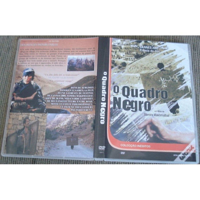 Dvd O Quadro Negro - 2000 - Samira Makhmalbaf  - FILMES RAROS EM DVD