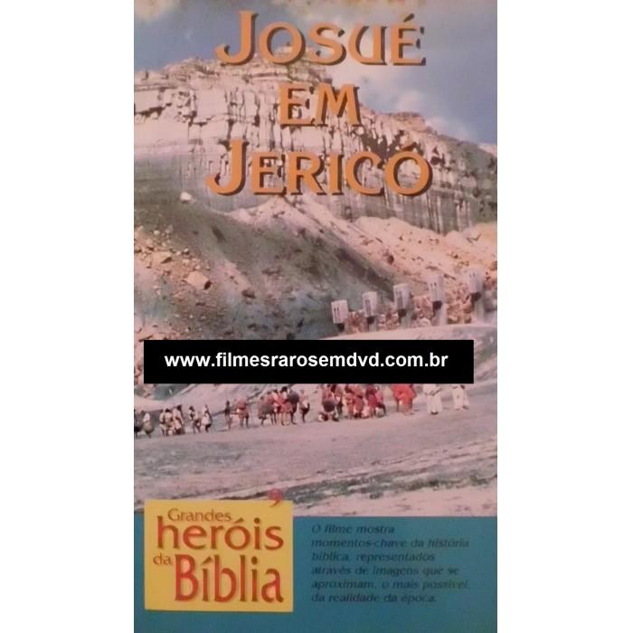 Dvd Josué Em Jericó 1978 - Raríssimo  - FILMES RAROS EM DVD
